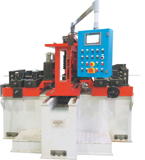 Automatic strip end-welder include the Automatic system for bead removing by rotating milling tool.