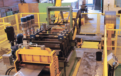"""Tube mill entry section for 8"""" tube mill."""