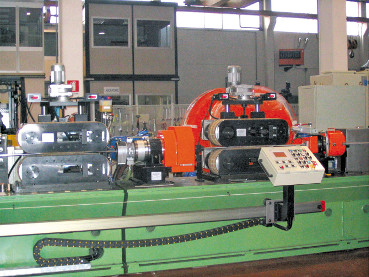 Two corrugation units on the line allow to improve the wave height and they guarantee a high-quality finish.
