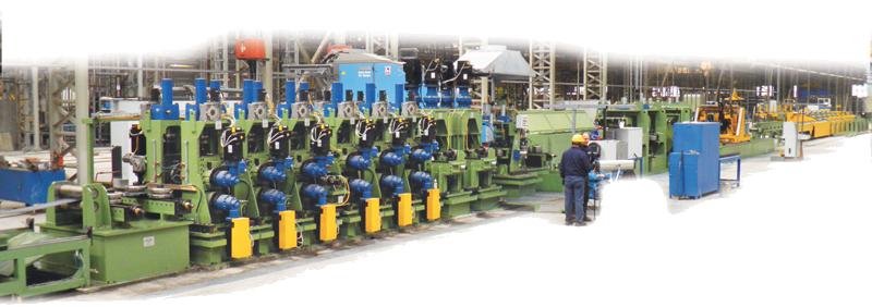 Complete tube mill MOD. SCF 40 -120.